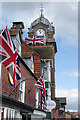 SU3368 : Flags in Hungerford by Stephen McKay