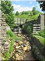 SD9954 : Crag  Gill  Moor  Beck  coming  down  to  Embsay  Reservoir by Martin Dawes