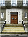 SN4119 : Door to County Hall by Philip Halling