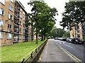 TQ3371 : North on Bowen Drive, Kingswood Estate, East Dulwich by Robin Stott