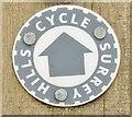 SU9140 : Cycle Surrey Hills by Colin Smith