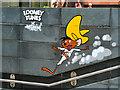 SJ8398 : Looney Tunes Art Trail #1. Speedy Gonzales at Spinningfields by David Dixon