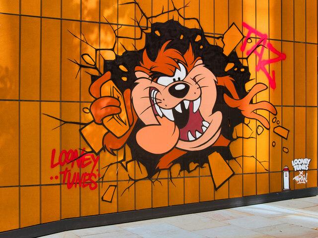 "Looney Tunes Art Trail #3, ""Taz"""