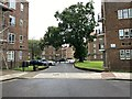 TQ3371 : Car parking, Kingswood Estate, East Dulwich by Robin Stott