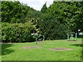 SO2814 : Outdoor gym in the grounds of Nevill Hall Hospital, Abergavenny by Ruth Sharville