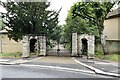 TQ3371 : Gates to Kingswood House, Kingswood Drive, East Dulwich by Robin Stott