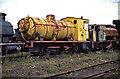 NZ2057 : Tanfield Railway - unrestored fireless locomotive by Chris Allen