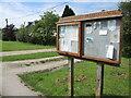 ST9176 : Noticeboard on Plough Corner by Neil Owen