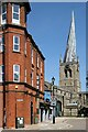 SK3871 : The twisted spire, Chesterfield by Alan Murray-Rust