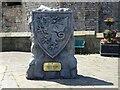 SH4762 : Kieffer Moore outside Caernarfon Castle by Gerald England