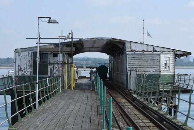 Hythe Pier ferry terminal buildings