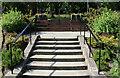 NS3319 : Steps & Railings, Belleisle Park Ayr by Billy McCrorie