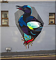 J5082 : Street art, Bangor  by Rossographer