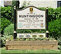 TL2471 : Welcome to Huntingdon by Colin Smith
