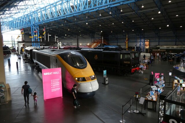 Eurostar in the Great Hall