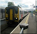ST1586 : 153367 at Platform 1, Caerphilly station by Jaggery