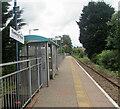 SS8590 : Passenger shelter on Ewenny Road station, Maesteg by Jaggery