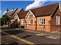 SP1479 : St Augustine's Catholic church and former school, Herbert Road, Solihull by Alan Paxton