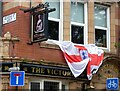 SJ8493 : The Victoria: Signage by Gerald England