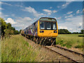 SE2991 : Pacer Train on the Wensleydale Railway by David Dixon