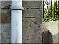 NY1630 : Benchmark, Station House, Lambfoot, Embleton by Adrian Taylor
