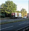 ST3091 : M&S lorry, Malpas, Newport by Jaggery