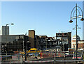 SE1632 : Demolition of the old police station seen from Market Street, Bradford by habiloid