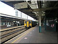 ST1876 : 150250 arriving at Platform 2, Cardiff Queen Street station by Jaggery