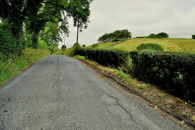 Rough surface along Kilnahusogue Road