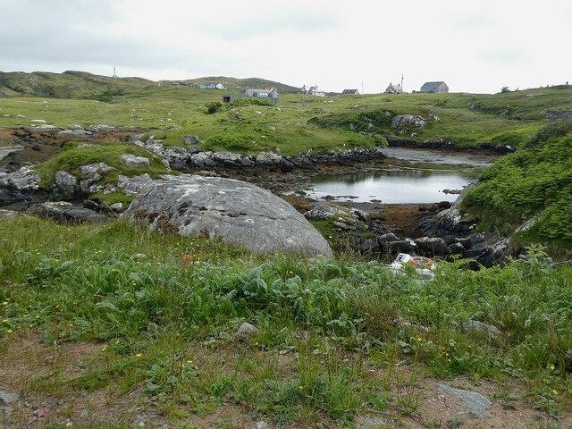 Barra - Inlet near Bruernish (Bruairnis)
