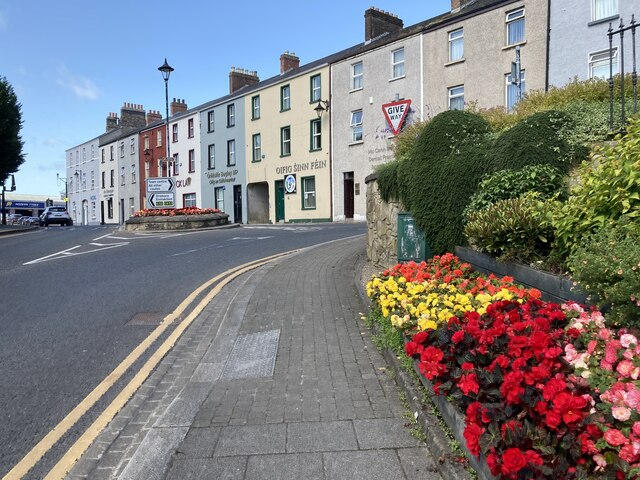 Floral display, John Street, Omagh