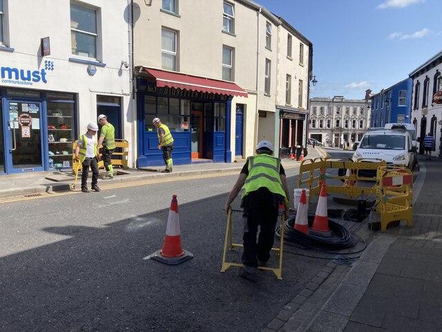 Workmen, John Street, Omagh