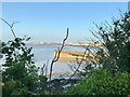 ST4777 : Portishead Pier and the Severn Estuary by David Dixon