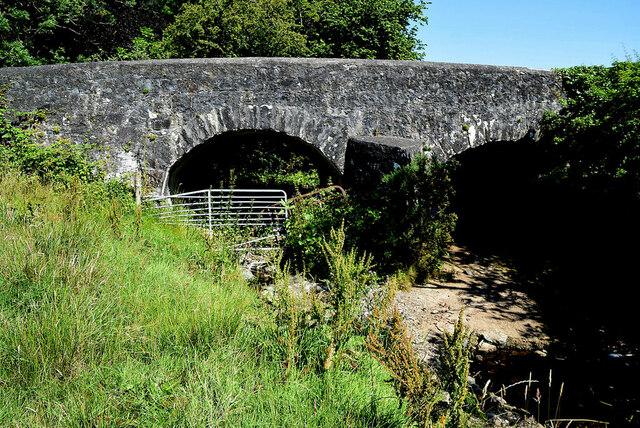 Stone built bridge along Tirquin Road