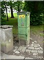 NS5467 : Electricity distribution box by Richard Sutcliffe