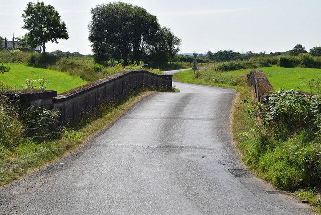 Twists and turns over Deverney Bridge