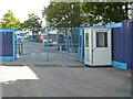 SO8754 : Worcestershire Royal Hospital - construction site entrance by Chris Allen