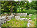NY7204 : Ruins of Gilbertine Cell, Ravenstonedale 2 by Humphrey Bolton
