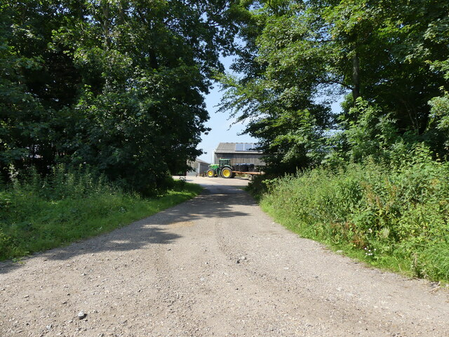 Entrance to Hall Farm Farmyard