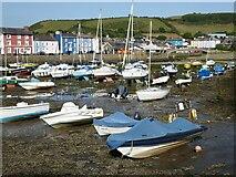 SN4562 : Aberaeron Harbour by Philip Halling