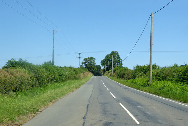 Road towards Cold Ashby