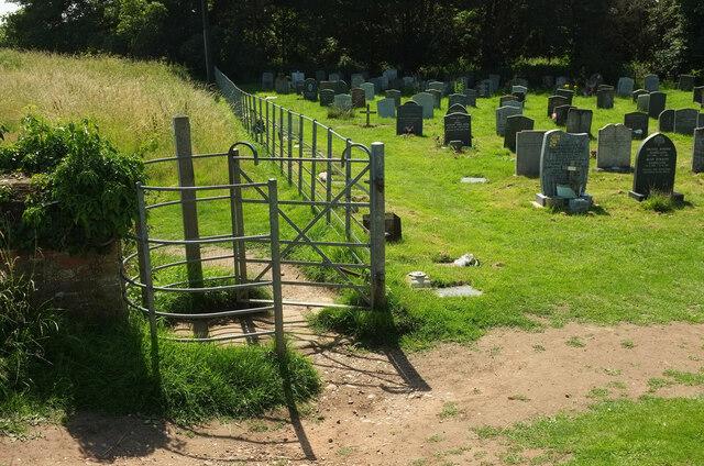 Churchyard, Hanbury