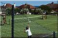 SX9677 : Dawlish Lawn Tennis Club by Stephen McKay