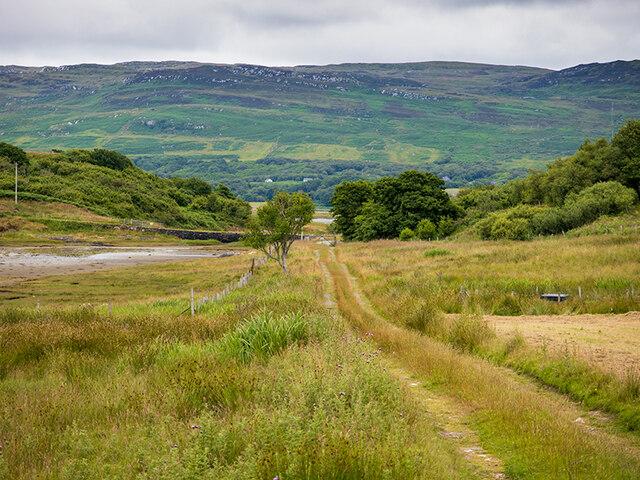 Track from Port nan Gallan