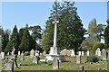 TQ5937 : WWI War Memorial, Kent & Sussex Cemetery by N Chadwick