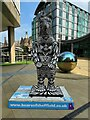 SK3587 : Bears of Sheffield: #15 Quasar One by Graham Hogg