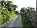 TG3530 : West on Nash's Lane by Nash's Farm by David Pashley
