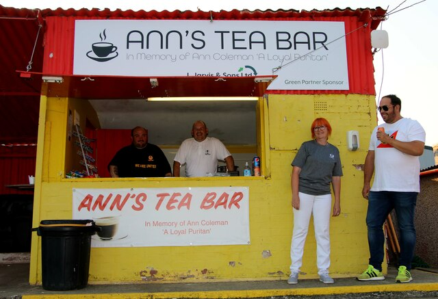 Ann's Tea Bar at the Banbury Plant Hire Community Stadium