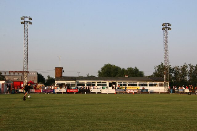 The clubhouse at the Banbury Plant Hire Community Stadium