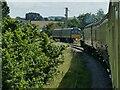 ST0841 : Steam meets diesel at Williton by Stephen Craven